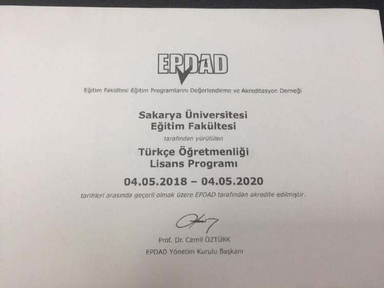 Sakarya Üniversitesi Türkçe Öğretmenliğinden Bir İlk
